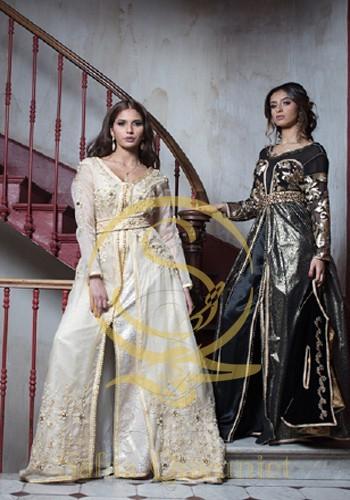 caftan fiancée tingitane et nuit baroque